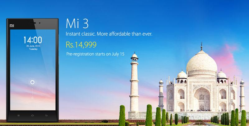Mi3 India Launch Image 2