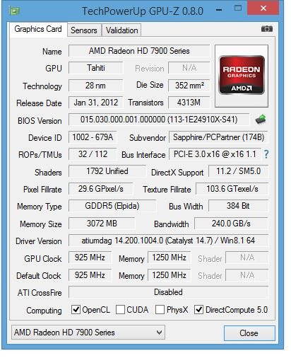 GPUZ Graphics card overclocking