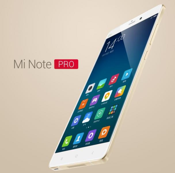 Flagship Xiaomi Mi Note Pro 4G LTE 4 GB Ram Launched