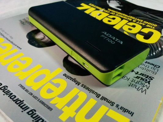 Review Adata PT100 the 10000 mAh Power Bank