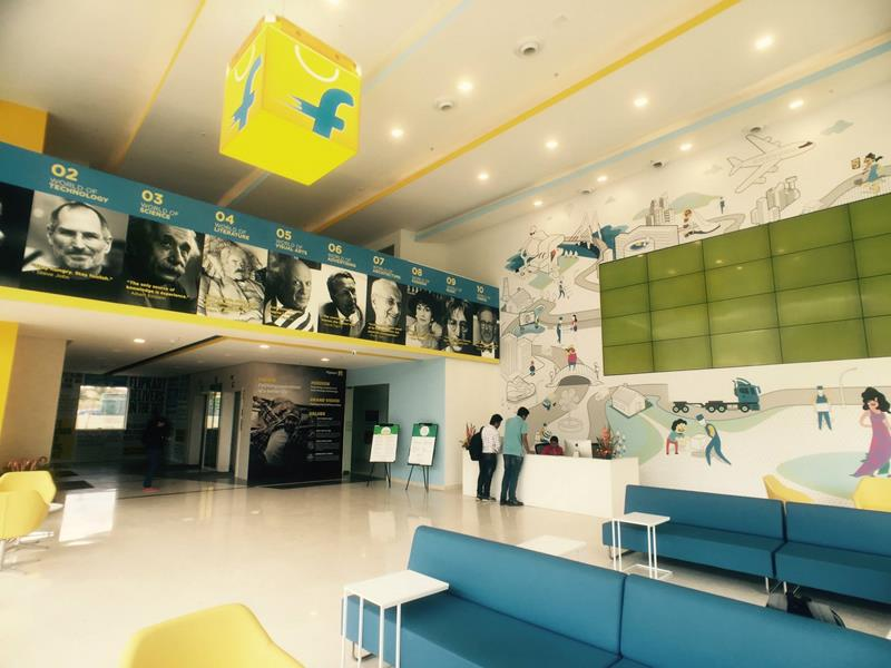 Flipkart New Office is the Coolest Place to Work