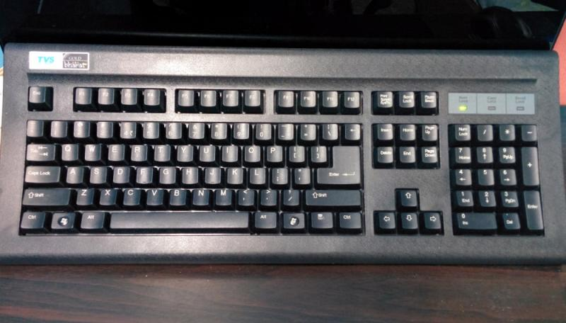TVS GOLD Worlds Cheapest Mechanical Keyboard Price $30