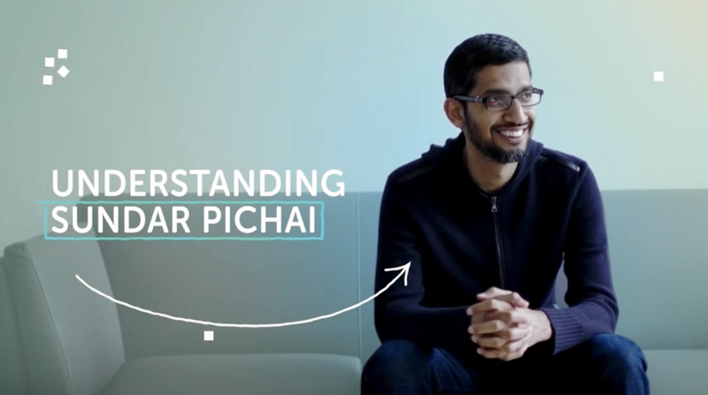 Rise of Sundar Pichai as Google CEO in Parent Company Alphabet