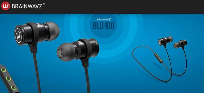 Review Brainwavz Blue 100 Good Bluetooth Earphones India