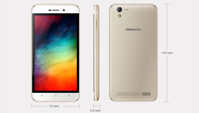 Karbonn VR Smartphone Launched Price 7490 on Snapdeal