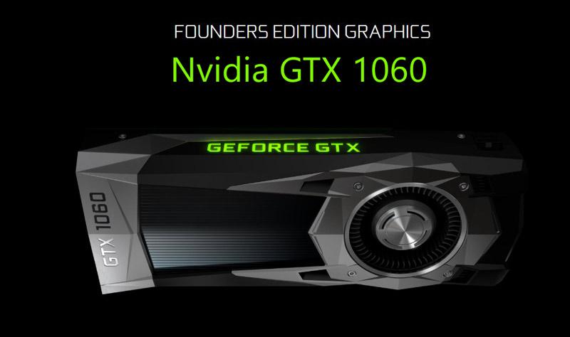 Nvidia GTX 1060 Specs Details Price India