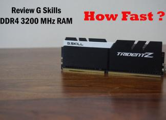 Review G Skills DDR4 3200 MHz RAM TridentZ