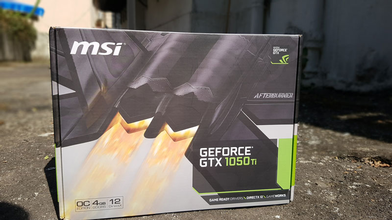 Review MSI GTX 1050 Ti OC Edition - Good For 1080P Gaming