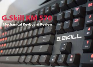 GSkill KM 570 Mechanical Keyboard Review