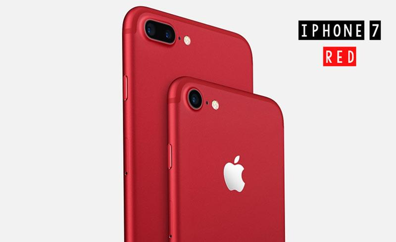 Apple Launches Red iPhone 7 and 7 Plus