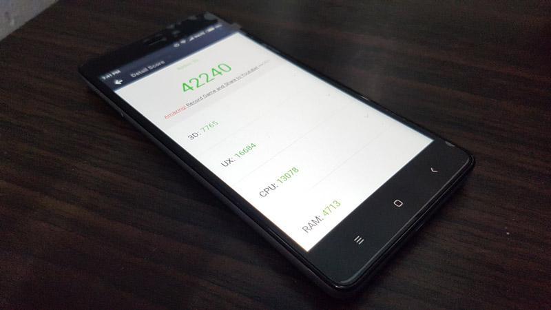 Redmi 3S Prime Benchmark