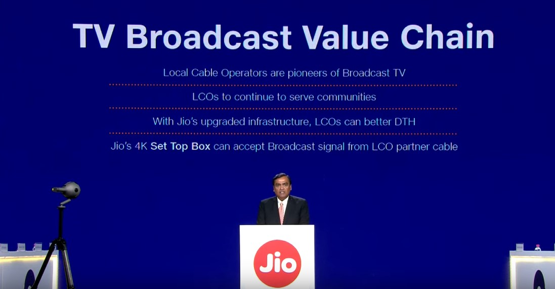 JIO Set-Top Box Benefits