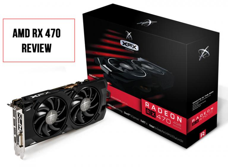 XFX AMD RX 470 Black Edition Review – 1080P Gaming Beast