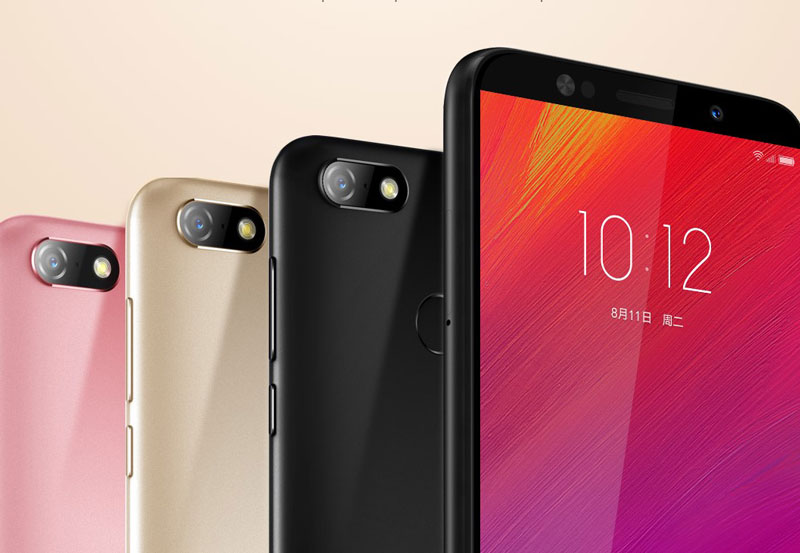 Lenovo Launches K5 Note and A5 (2018)