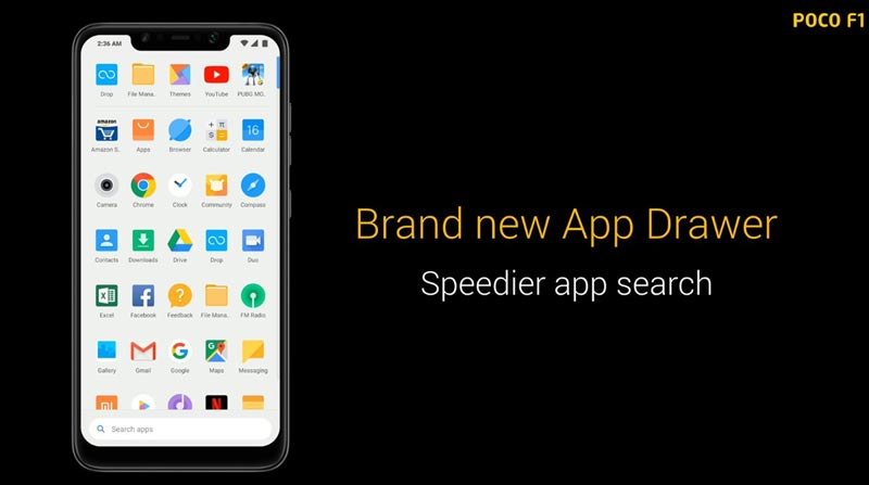 Poco-App-Drawer