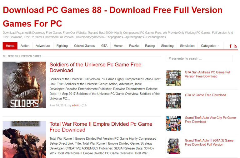 15 Best Quality Websites to Download Free PC Games (2019)