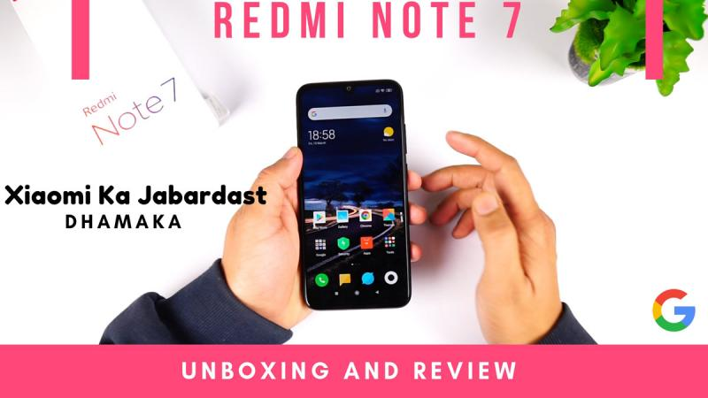 Review Redmi Note 7