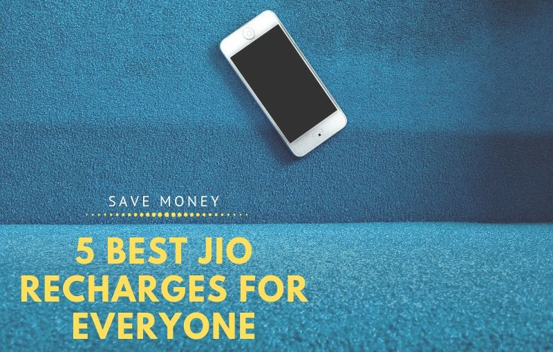 5 Best JIO Recharges For Everyone