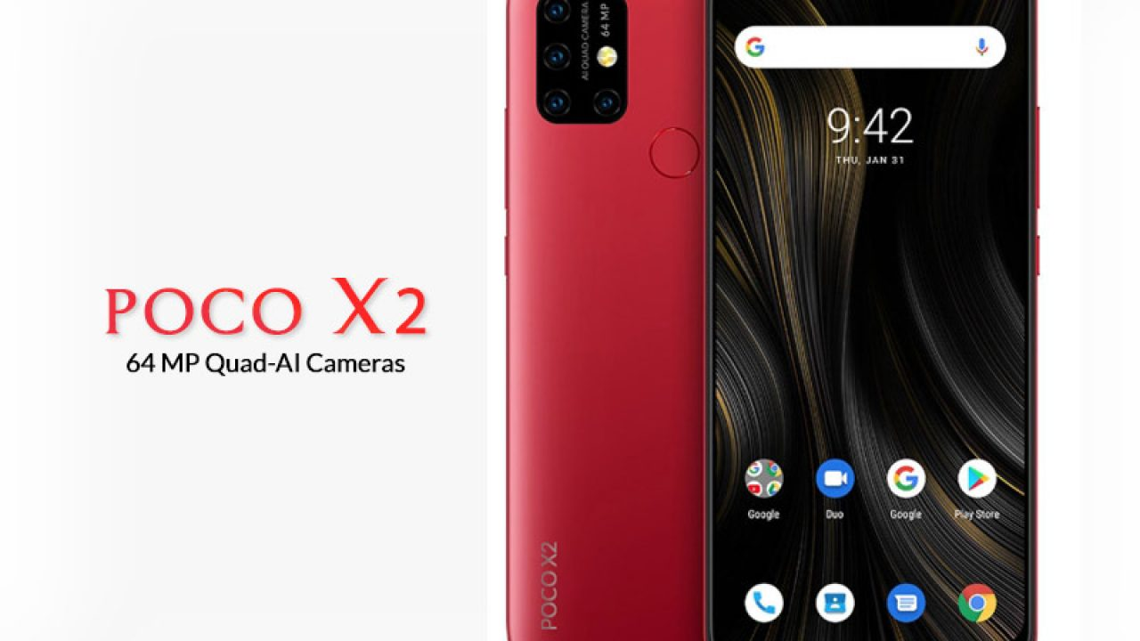 Upcoming Poco F2 And Poco X2 Specs Features And Launch Date