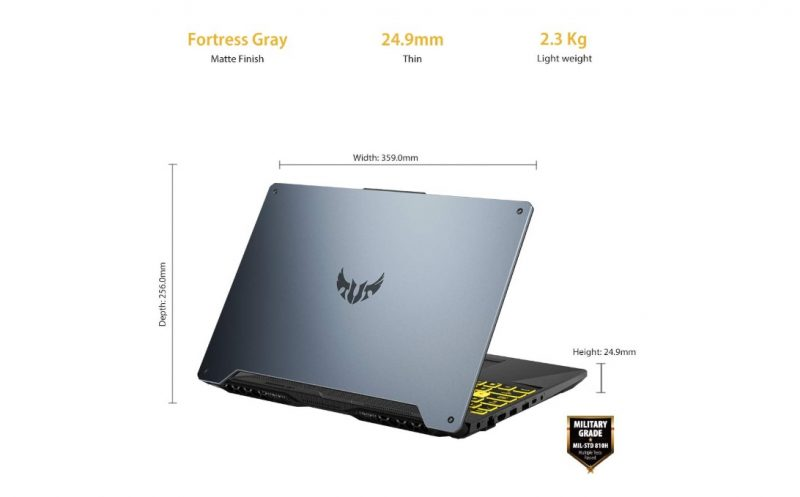 Asus TUF A15 Gaming laptop image 2