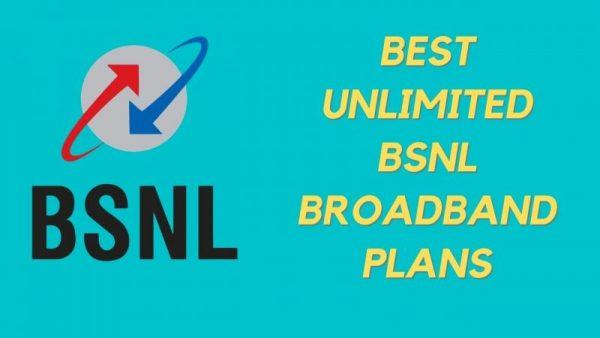 Best Unlimited BSNL Plans