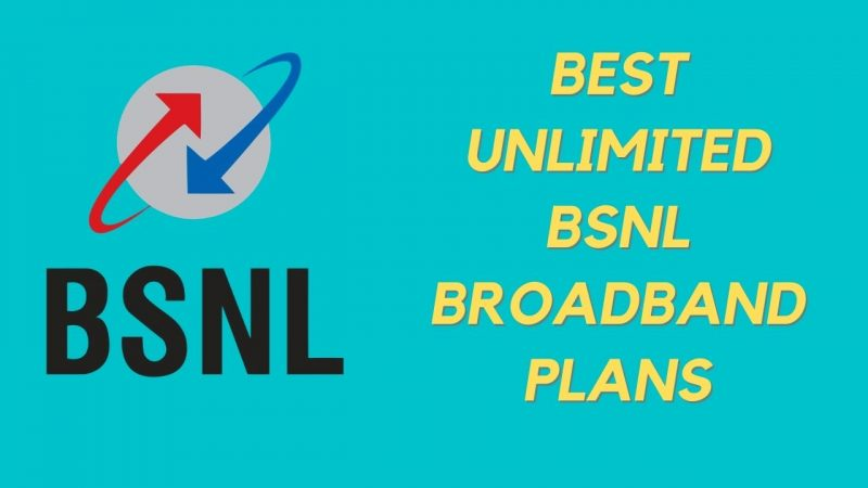 Best Unlimited BSNL Plans