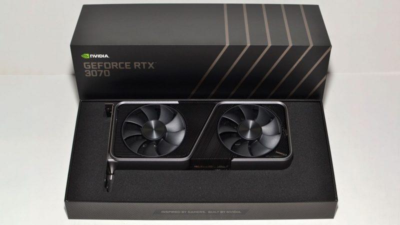 NVIDIA RTX 3070 GPU