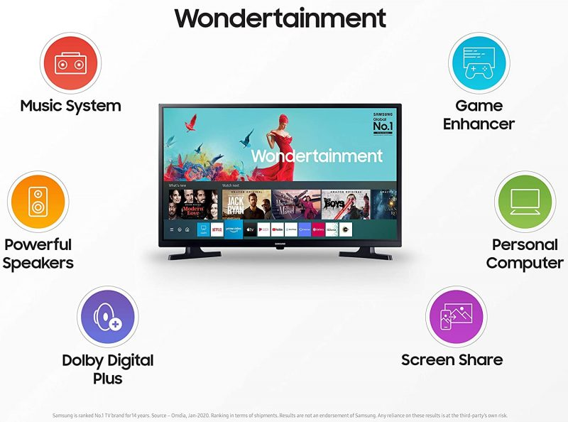 Samsung wondertainment series HD Ready 32inches TV