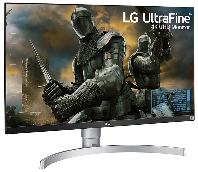 LG Ultra fine 4k 27 inch gaming monitor