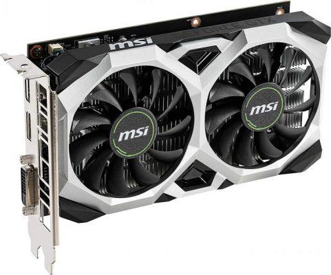 MSI GTX 1650 GPU