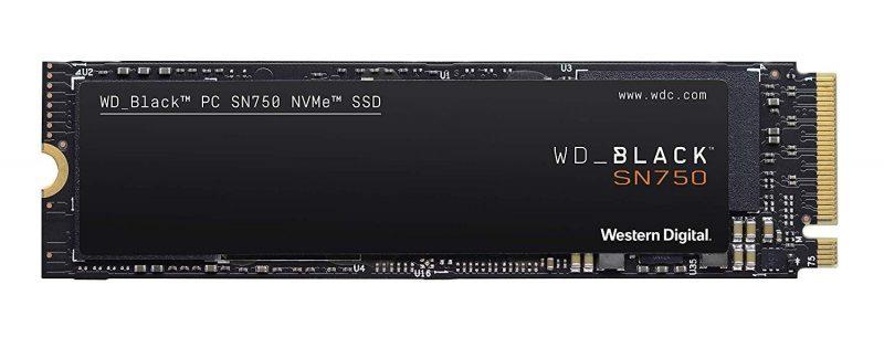 WD Black PCIe NVMe SSD
