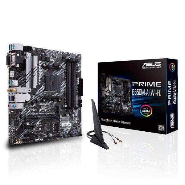Asus Prime B550M AMD motherboard