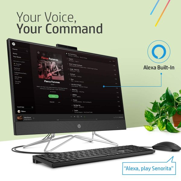 HP 24 AIO with built-in Alexa