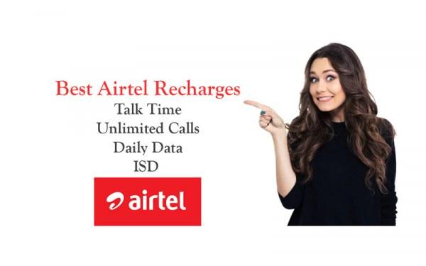 Best-Airtel-Recharges