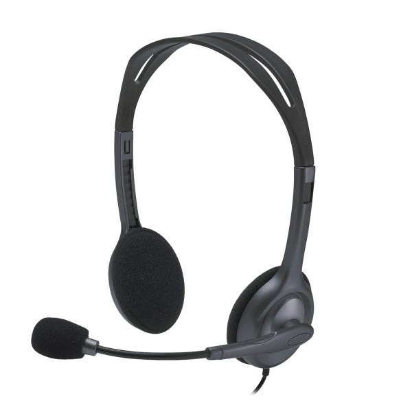 Logitech H111 wired stereo headphones
