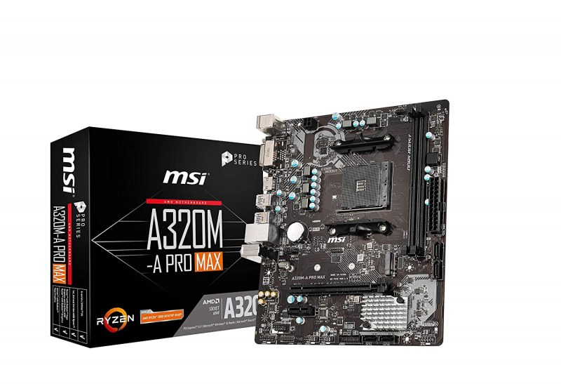 MSI A320M AMD gaming motherboard