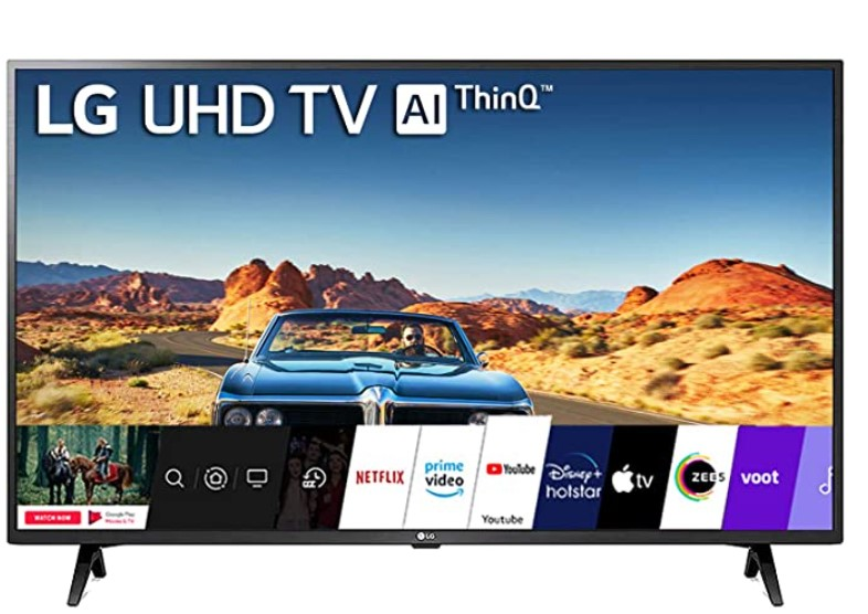 LG 43 inch 4K smat LED TV