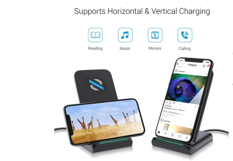 SKYVIK Beam 2 15W Fast Wireless Charger