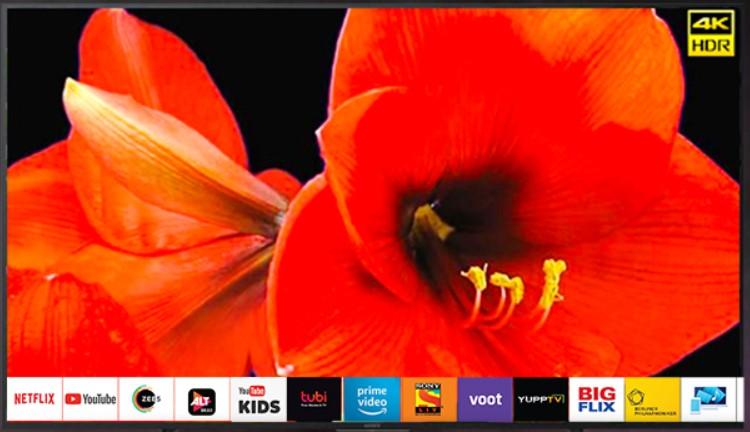 Sony Bravia 138.8 cm (55 inches) 4K Ultra HD Smart LED TV KD-55X7002G (Black) (2019 Model)