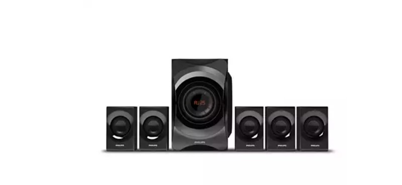 Philips SPA8000B Channel Multimedia Speakers System