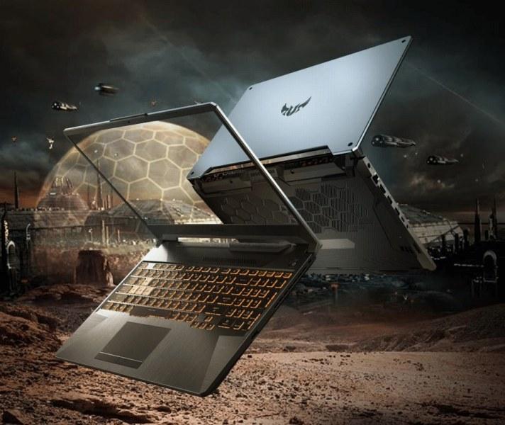 ASUS TUF F15 and F17 gaming laptop