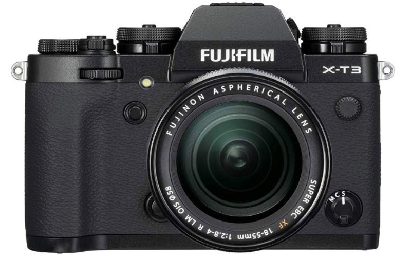 Fujifilm X-T3 mirrorless camera