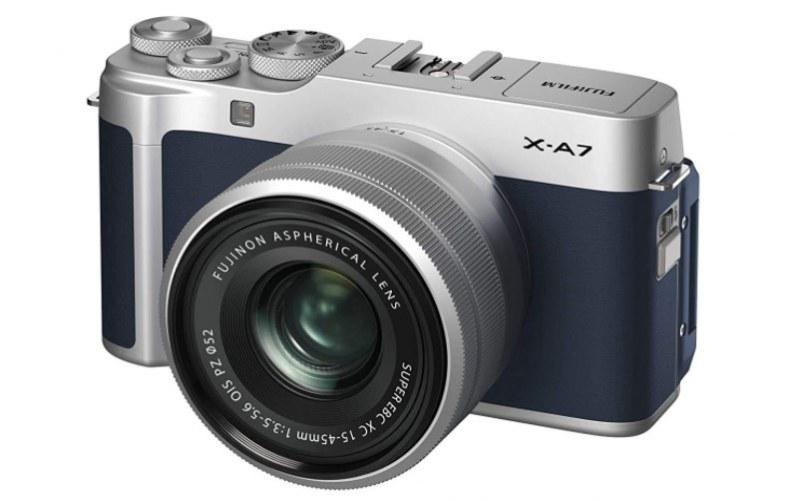 Fujifim X-A7 mirrorless camera