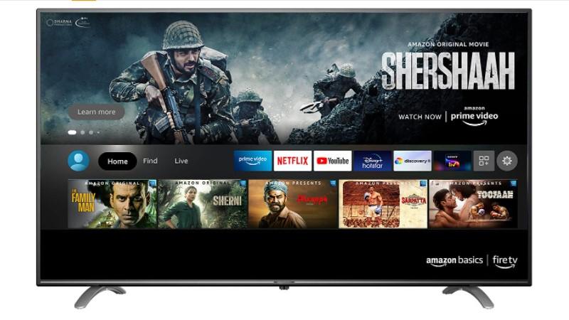 AmazonBasics 50 inch 4k UHD smart LED fire tv