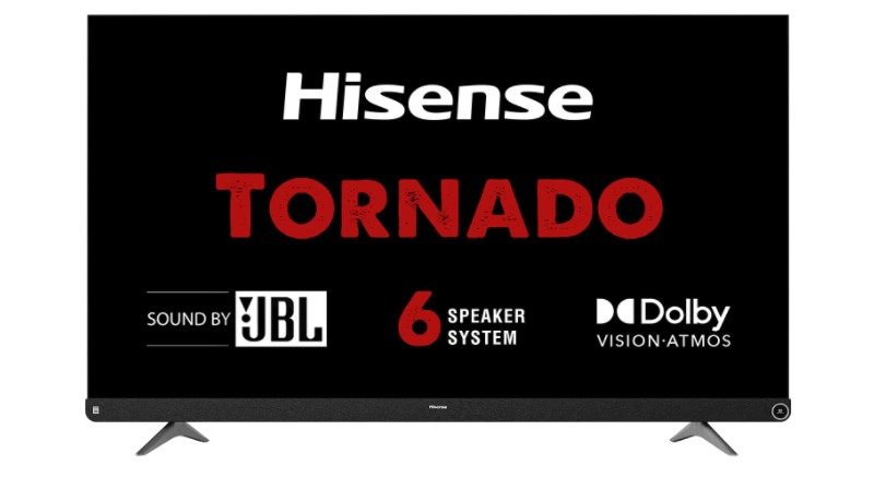 Hisense 65 inches smart LED TV