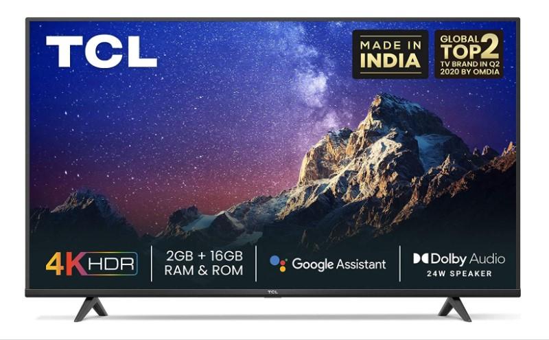 TCL 43 inch smart led tv